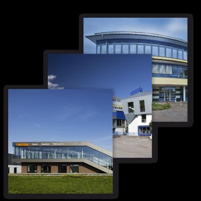 Centros de producción y Studio.