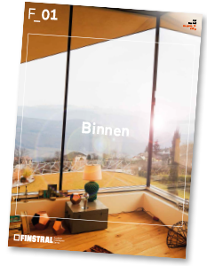 F_01 – Binnen/Buiten. Het Finstral Magazine.