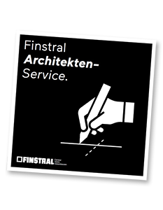 Finstral Architekten-Service.