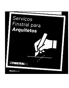 Serviços Finstral para Arquitetos
