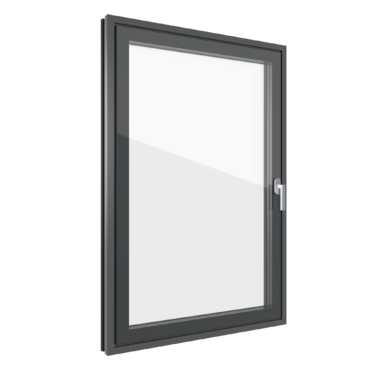 Ventanas con estética todo vidrio