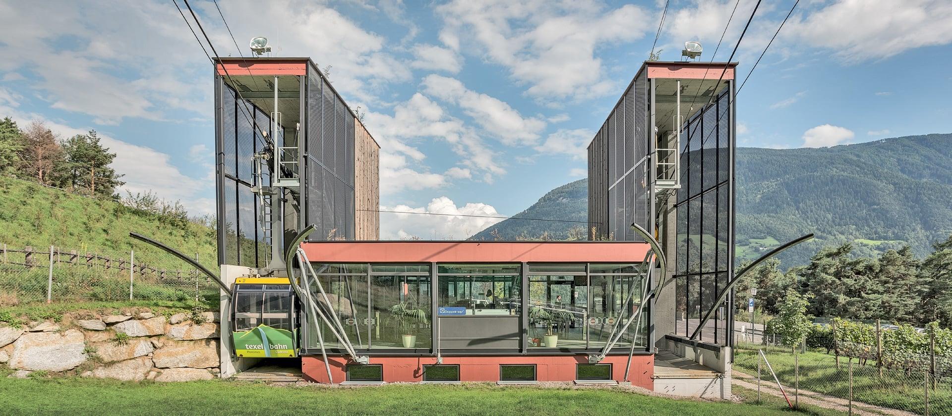 Téléphérique du mont Texel