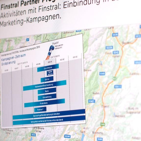 Planeamento centralizado das campanhas
