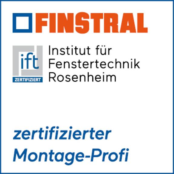 Finstral/ift-Zertifizierung