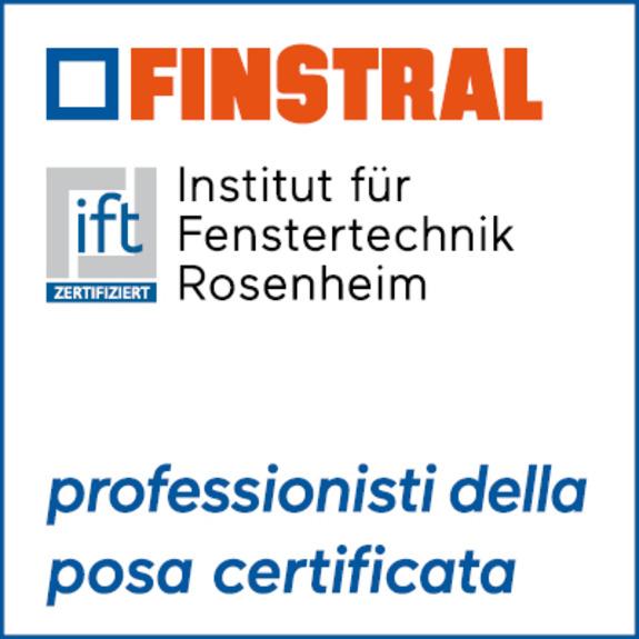 Certificazione ift/Finstral