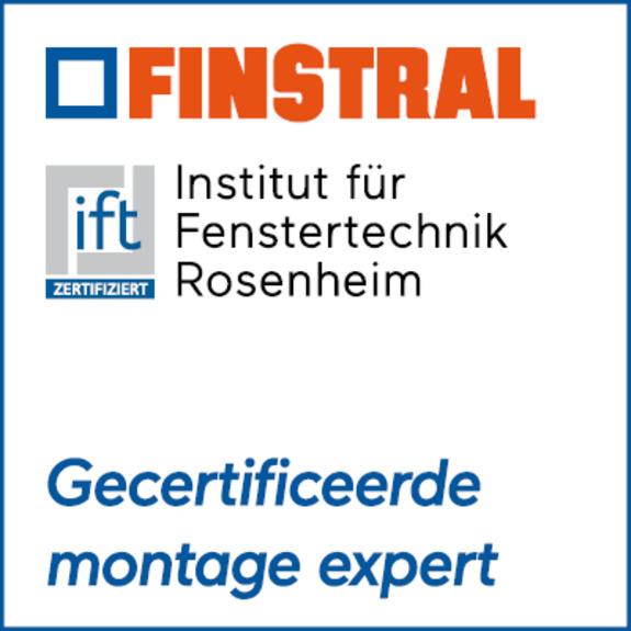 Finstral/ift-certificering