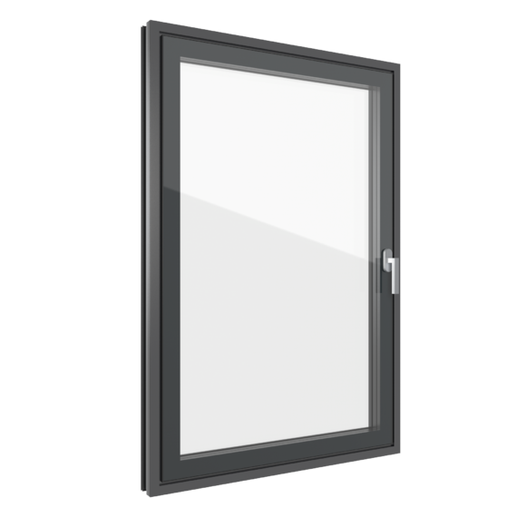 FIN-Project Step-line Cristal 78/88 aluminium-aluminium