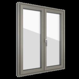 FIN-Project Nova-line Plus 78/95 aluminium-wood
