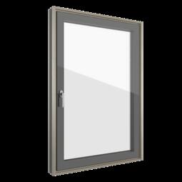 FIN-Ligna Slim-line Cristal 84/105 Kunststoff-Holz