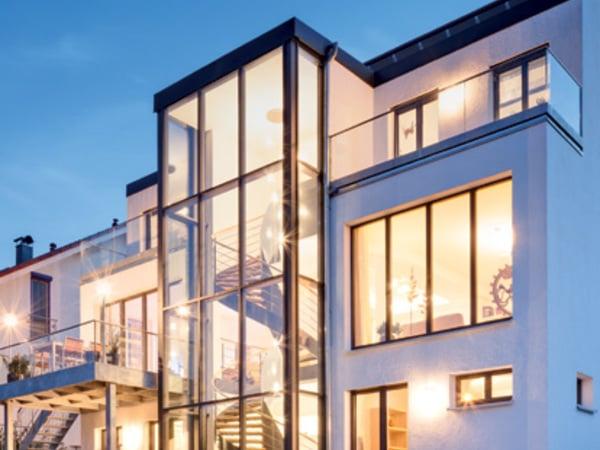 Pareti Esterne In Vetro : Vetrate scorrevoli pareti in vetro per la chiusura di terrazzi e