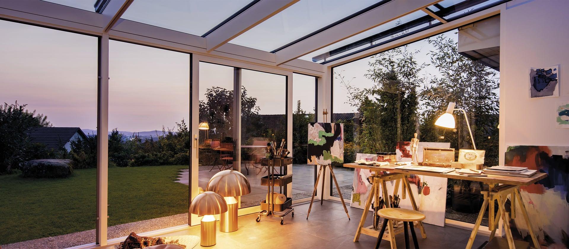 Mi veranda Finstral.