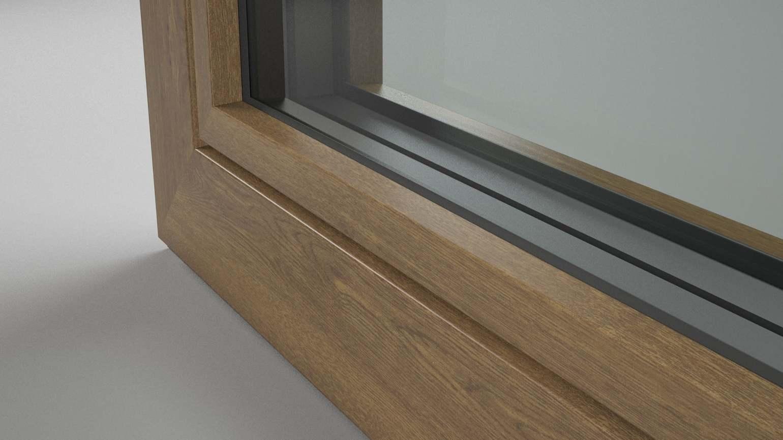 Revestimiento con aspecto madera