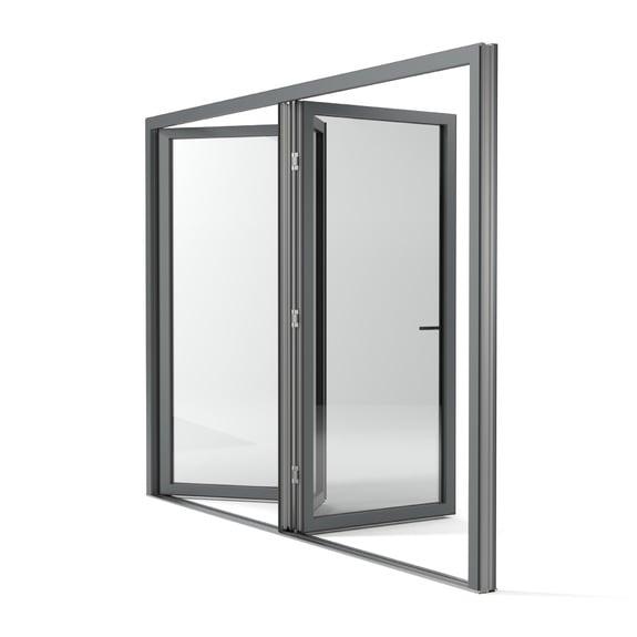 Classic-line is ook verkrijgbaar als schuif- of vouwdeur.