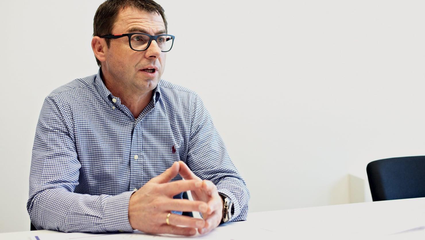 Markus Prast, leider kwaliteitsmanagement.