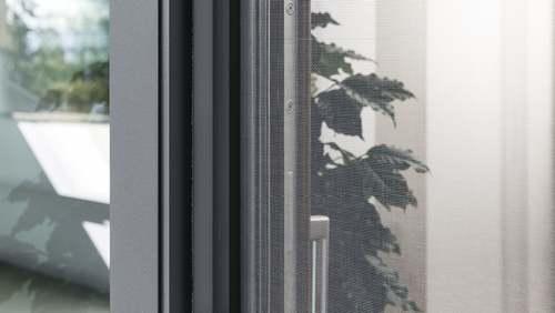 Insectenhor-rolgordijn/-plissé