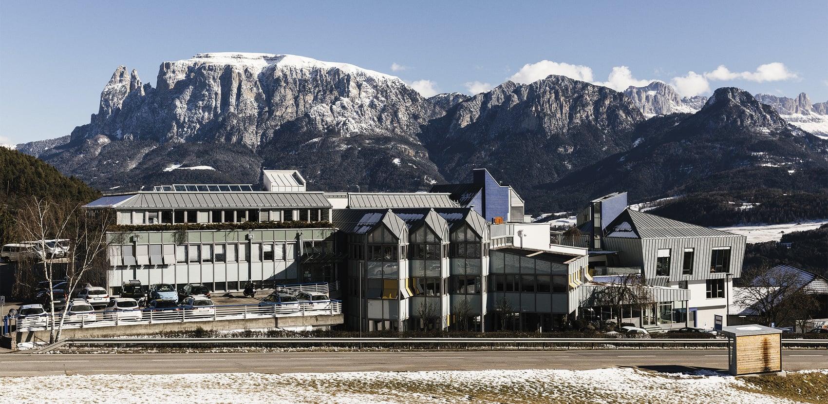 Finstral-Hoofdkantoor in Unterinn am Ritten