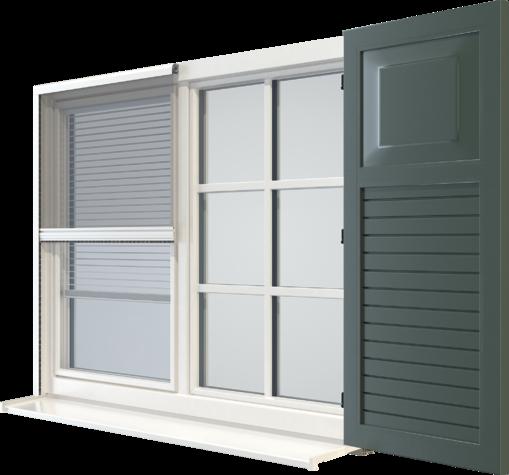 Una ventana.[BR/]Cuatro dimensiones.