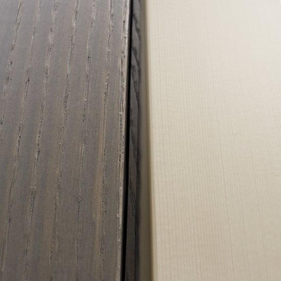 Il legno è versatile.