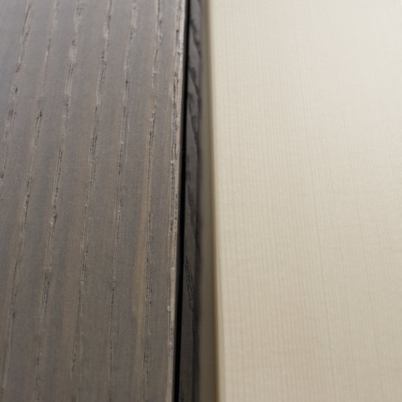 La madera es versátil.