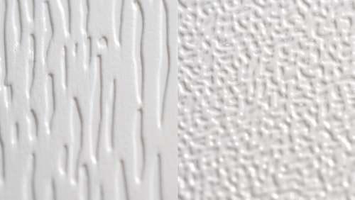 PVC gravado e satinado