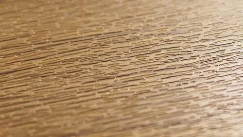 PVC grabado con revestimiento estructura madera