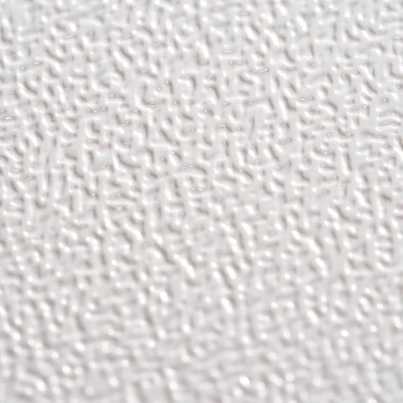 Satinierte Oberflächen sind praktisch und schön.