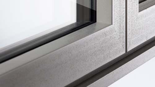 Design do aro de janela