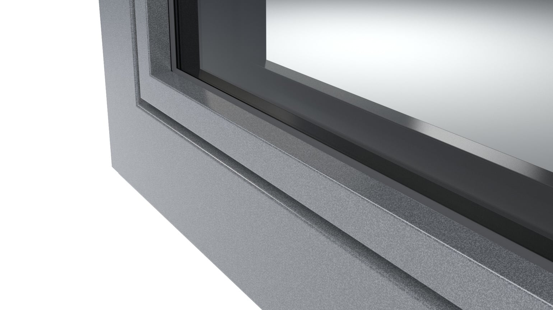 DB703 antraciet metallic zijdenmat