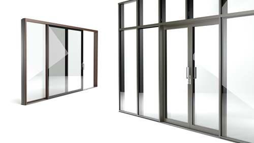 Porta-finestra alzante scorrevole FIN-Slide