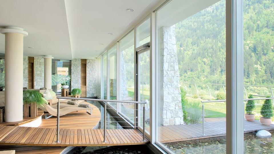 Hôtel Alpenschlössl dans la vallée de Passeier
