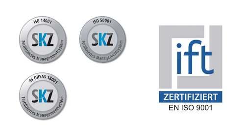 Certificados de gestão