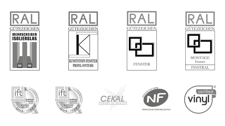 Selos de qualidade e certificados