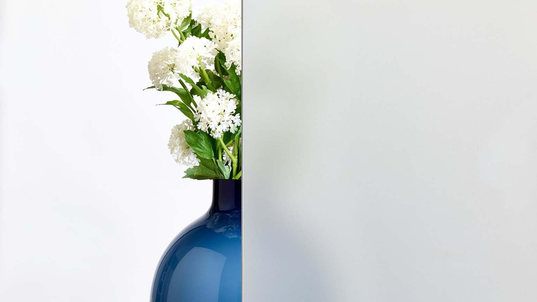 48 Mattglas Weiß