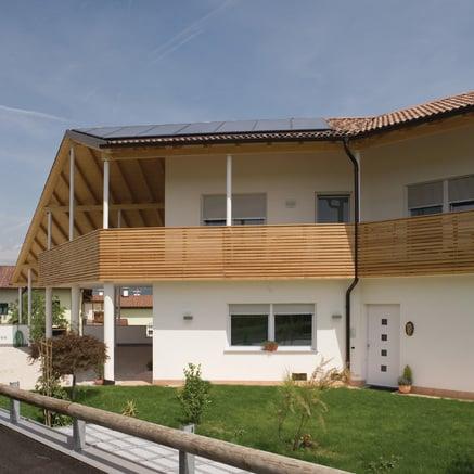 Maison dans l'Überetsch du Tyrol du Sud