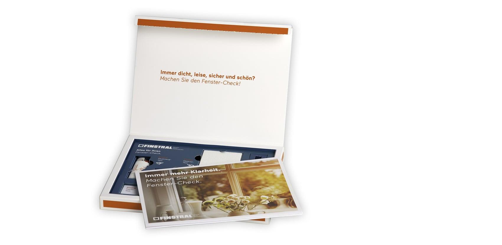 Das Fenster-Check-Kit von Finstral