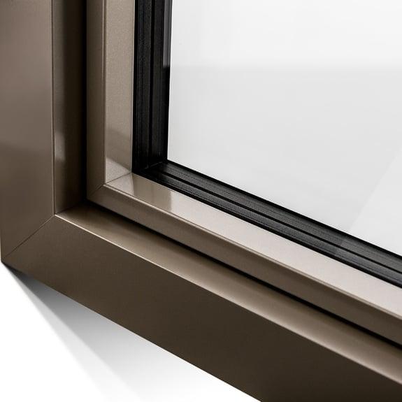 Finestre e porte finestre in pvc alluminio finstral spa - Verniciare finestre alluminio ...