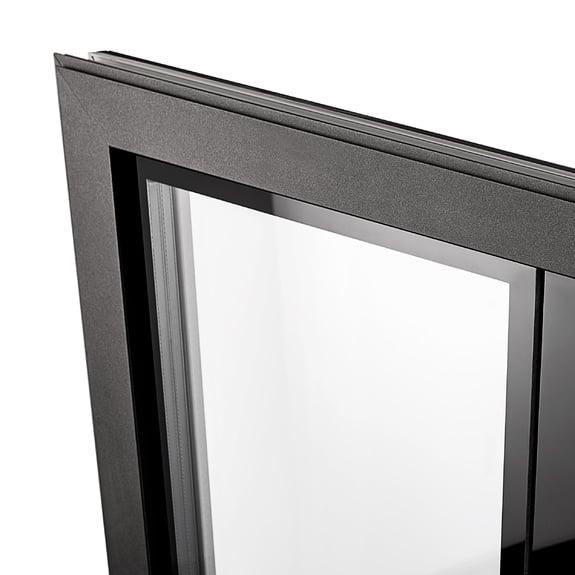 Schmaler Aluminium-Fensterflügel