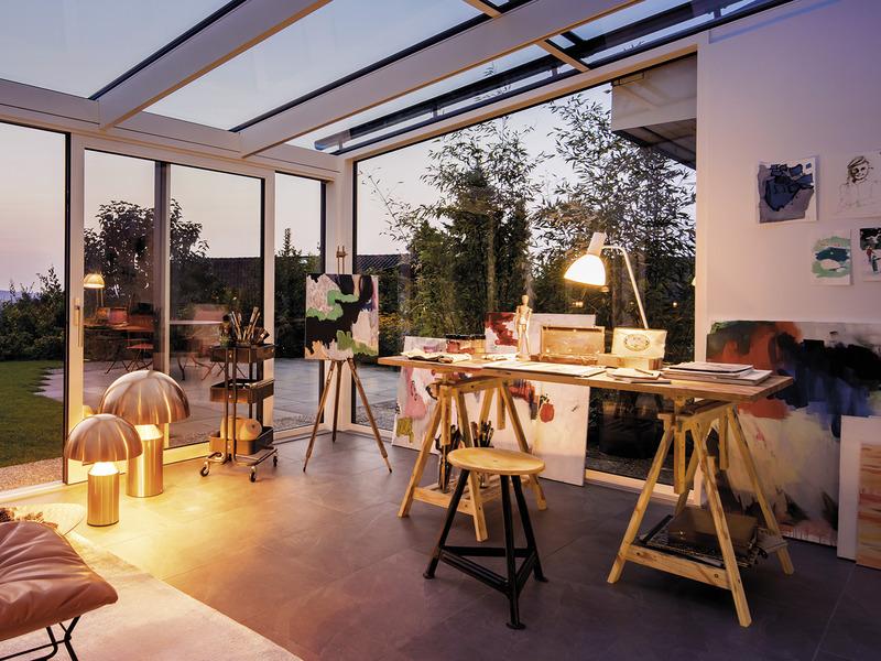 Progetti ville moderne con vetrate casa con ampie vetrate for Ville moderne con vetrate