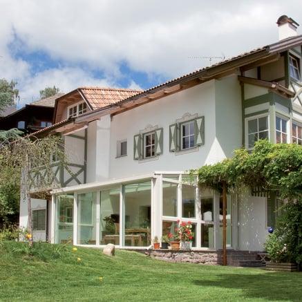 Maison sur le haut plateau du Ritten
