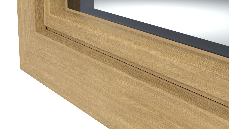 Decoro ad effetto legno