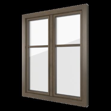 PVC-aluminium windows