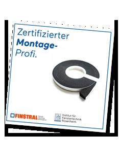 Zertifizierter Montage-Profi.