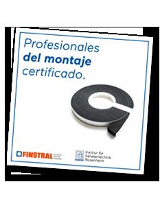 Profesionales del montaje certificado.