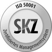 Energy management system DIN EN ISO 50001