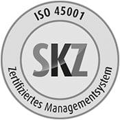 Arbeitssicherheitssystem ISO 45001