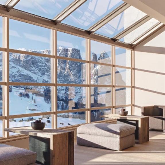 La plus innovante des fenêtres en bois.