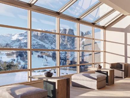 Holzfenster in ihrer innovativsten Form.