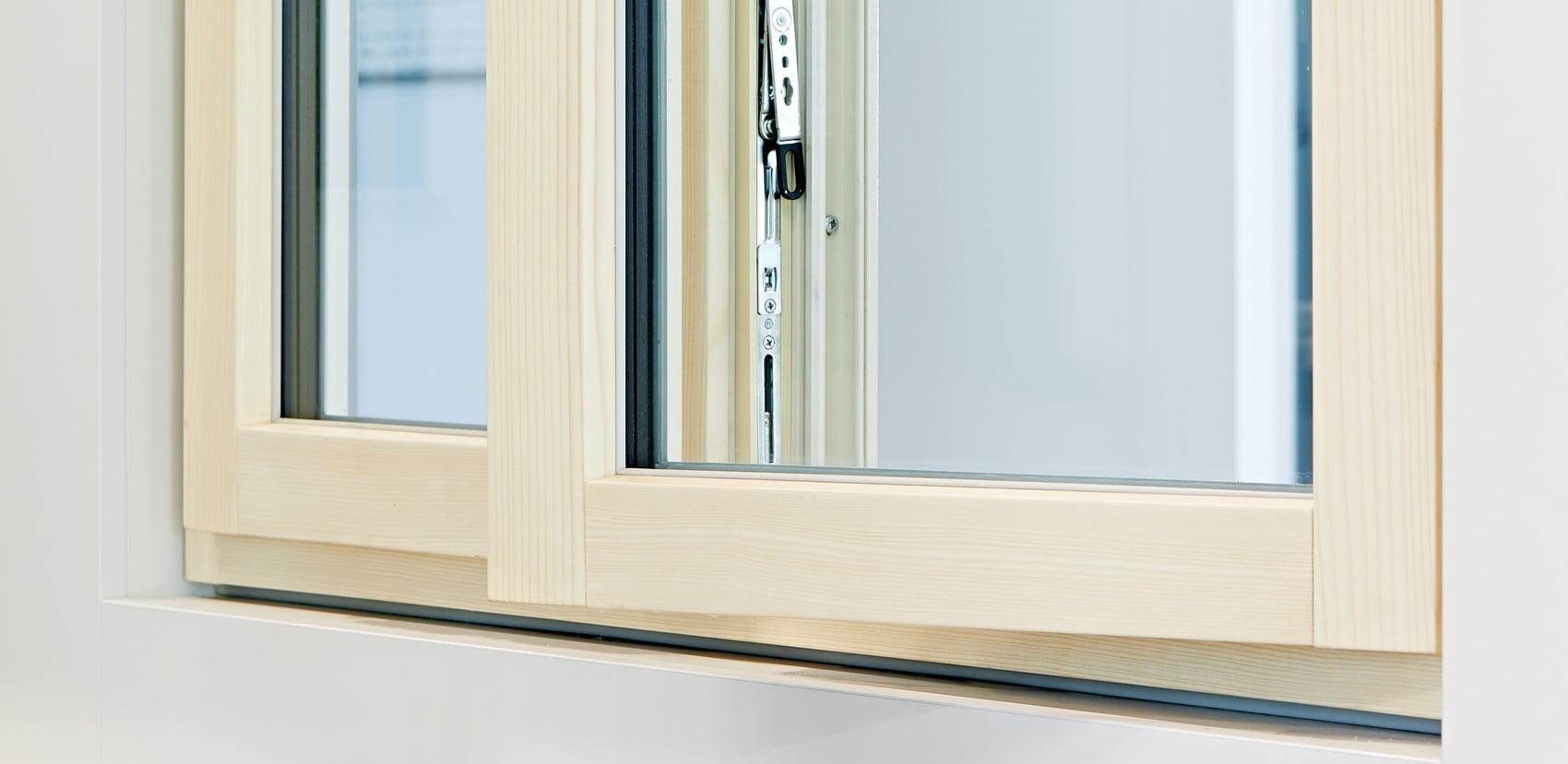 Innovative finestre in legno.