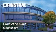 Finstral production plant Gochsheim