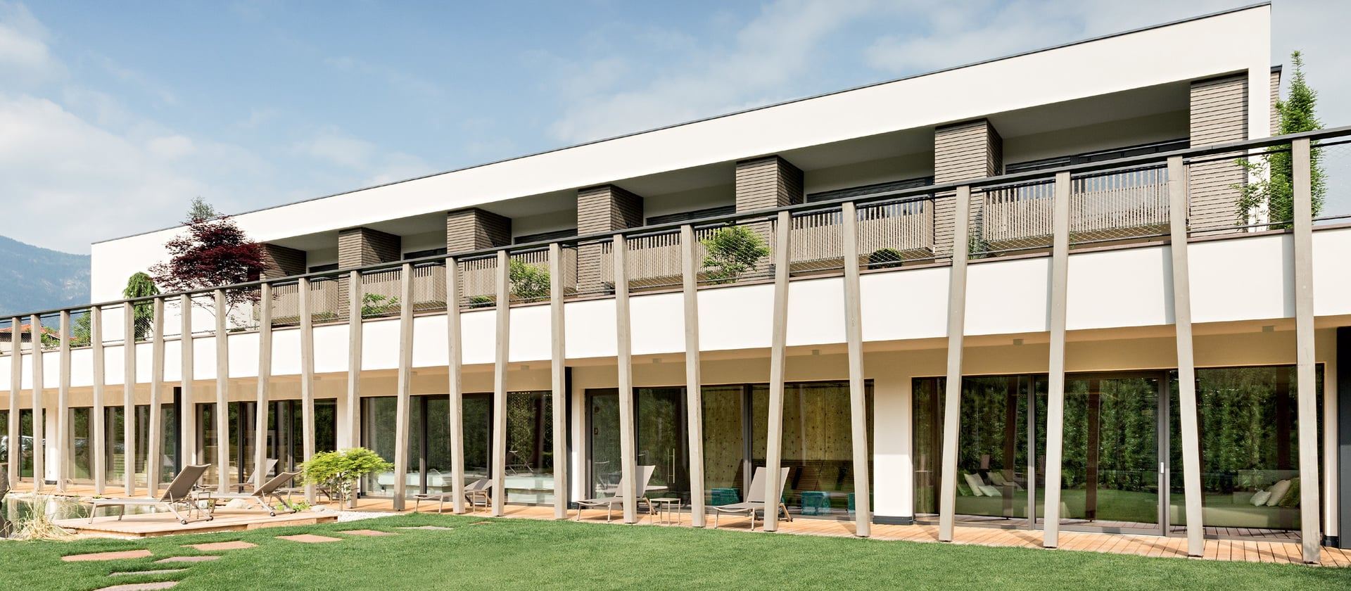 Gartenhotel Moser no lago Montiggler